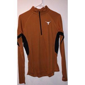 University of Texas Athletic Quarter Zip Pullover